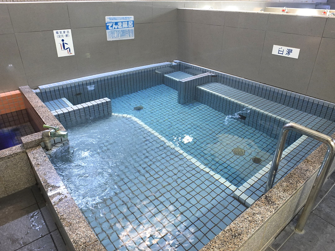 萩の湯の施設の様子