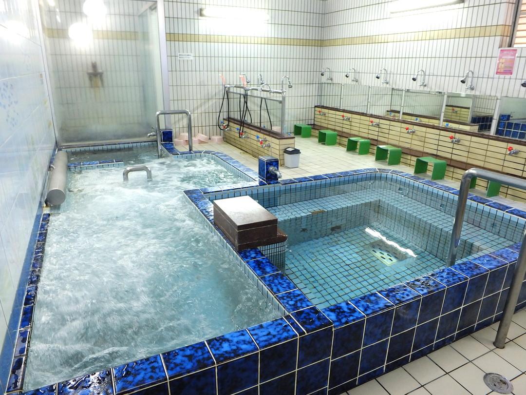 比良温泉の施設の様子