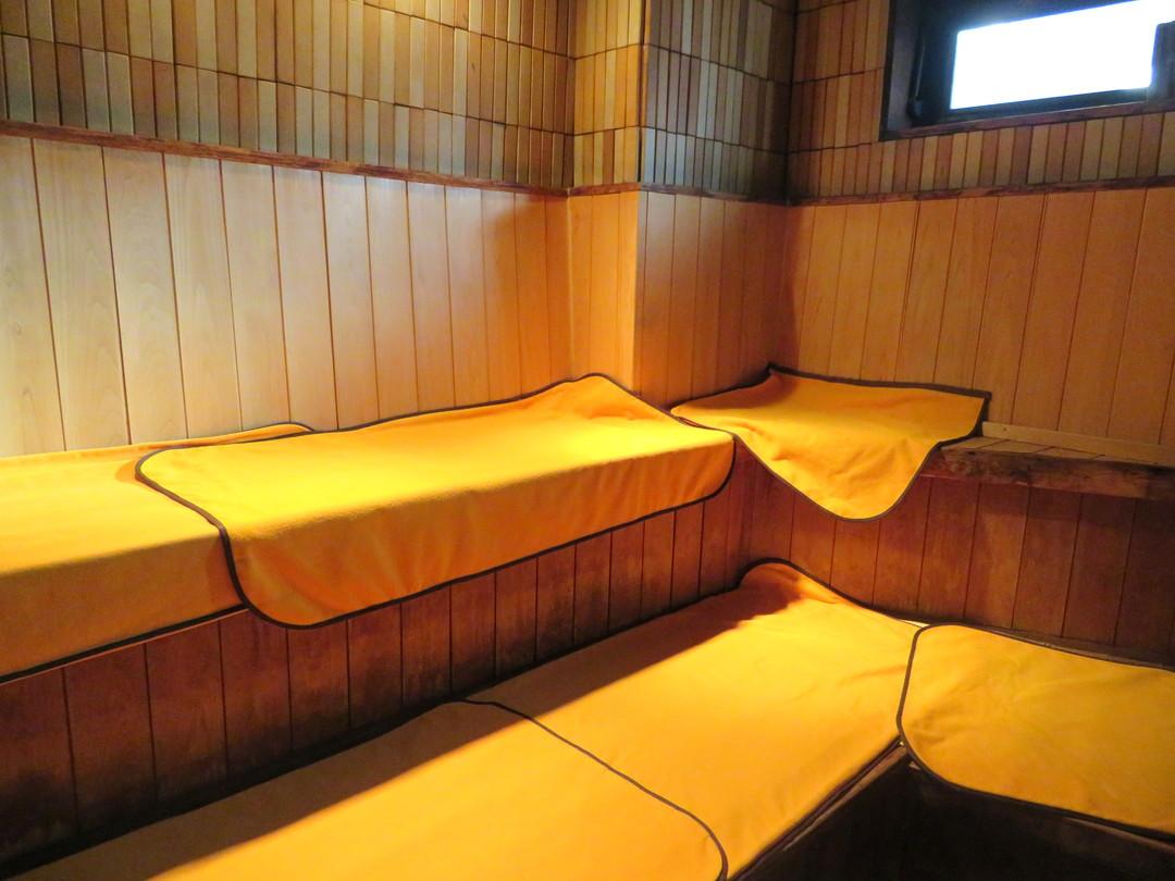 小田井温泉の施設の様子