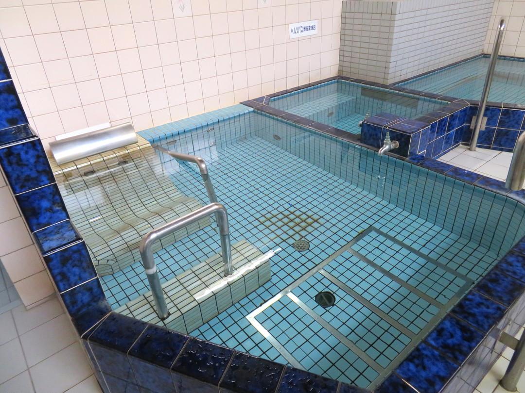 出口湯の施設の様子