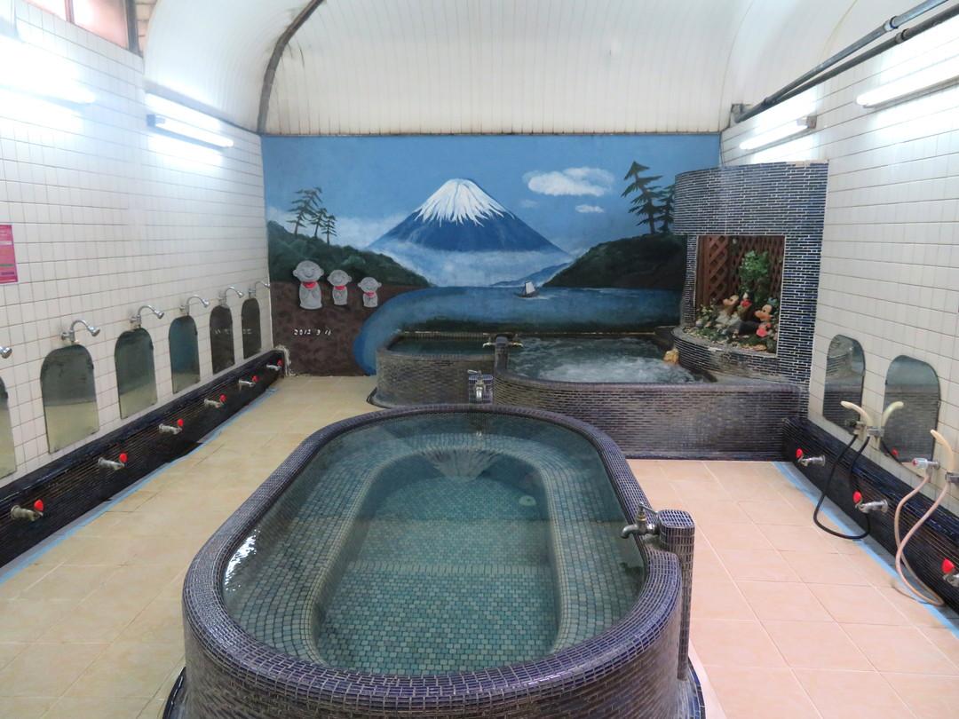 地蔵湯の施設の様子