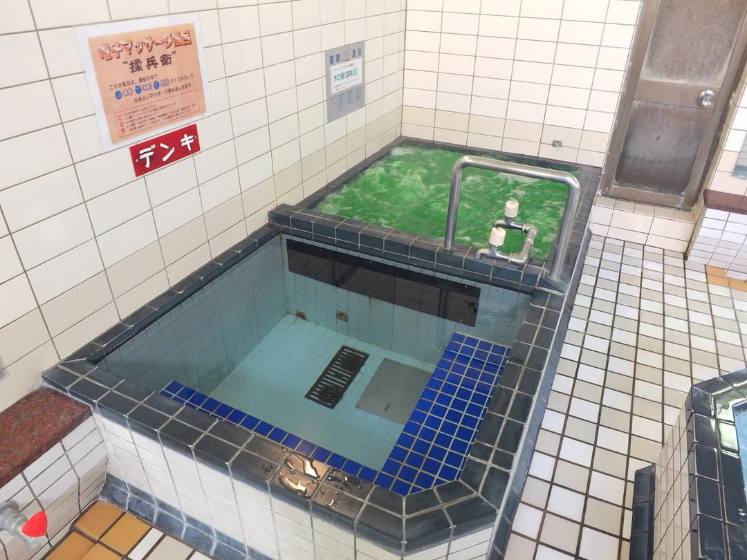 テレビ温泉の施設の様子