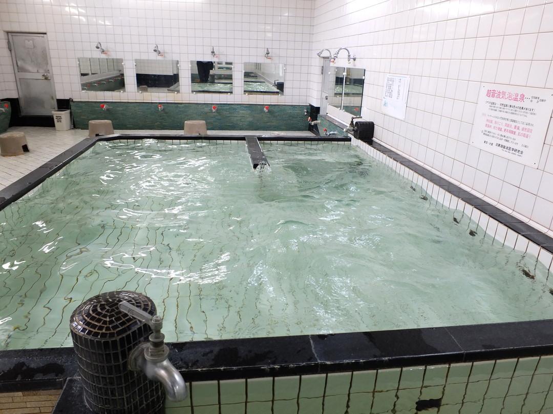 松原湯の施設の様子