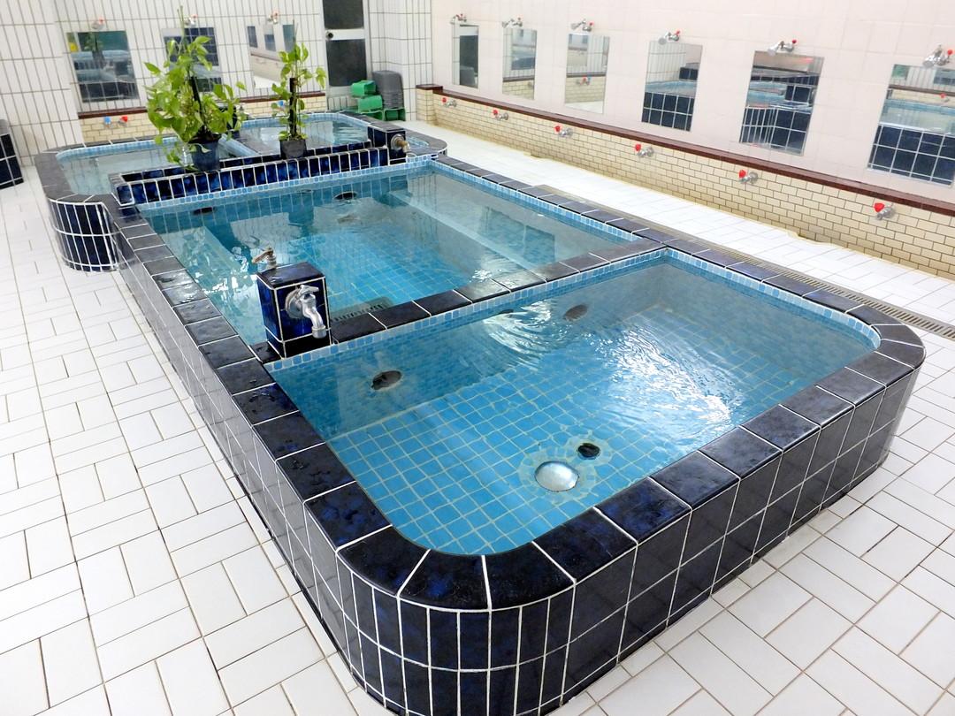 仁王門湯の施設の様子