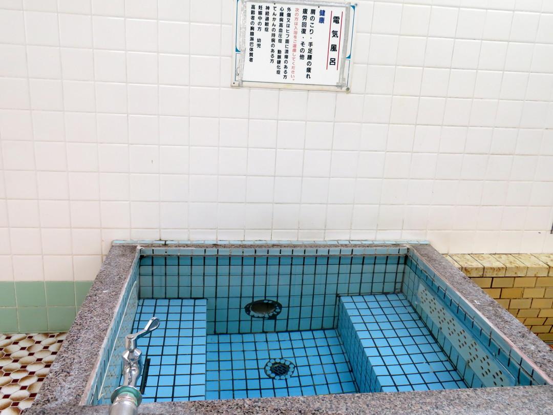 玉の湯の施設の様子