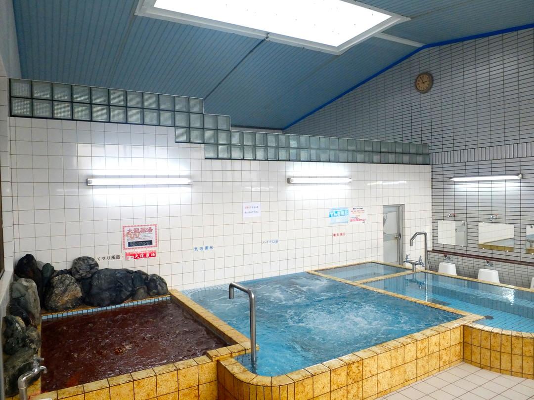 山田温泉の施設の様子