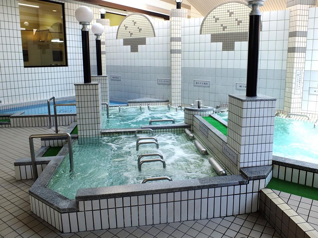 ぽかぽか温泉新守山乃湯の施設の様子