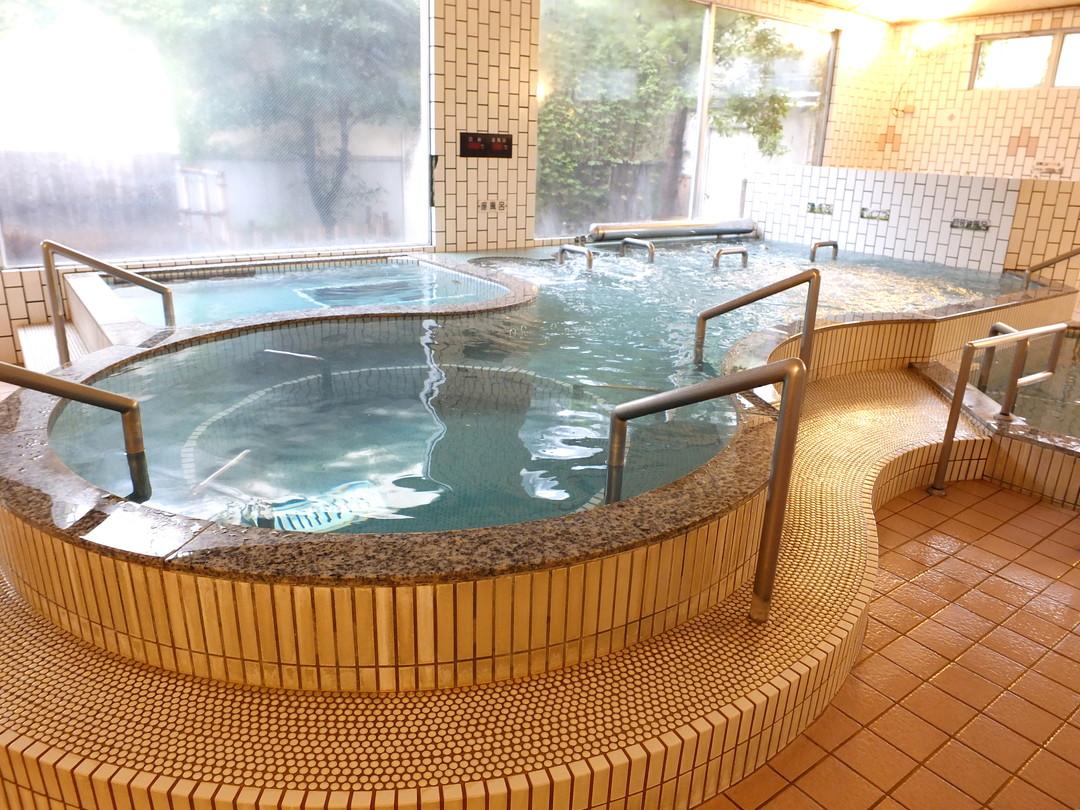 亀崎の湯の施設の様子