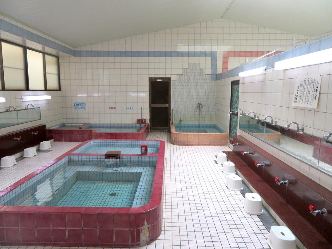 清水温泉の施設の様子