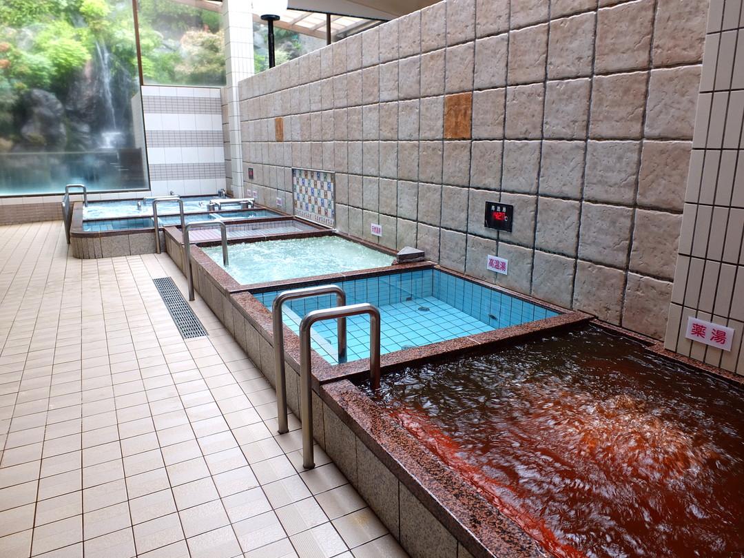 春日井温泉の施設の様子